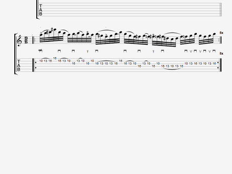 19/16 F Diminished (Half-Whole) Lick