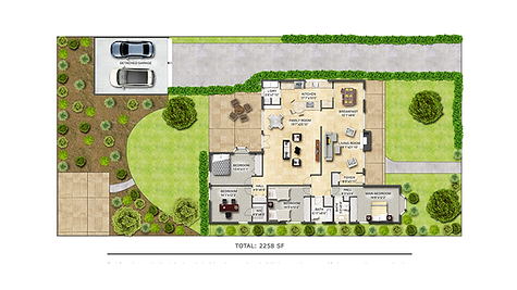Illustrated Floor Plan Thumbnail Website