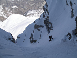 Grand Mourre, couloir Nord