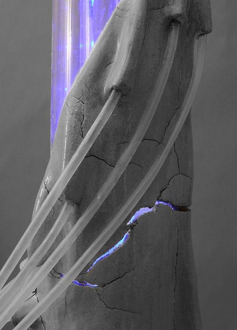 Water tower, Hydrophilic grounds, Arduino prototype.  WATERSHED- Inhabitable water infrastructure. Raphael fogel