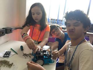 Ganhos na Aprendizagem da Robótica