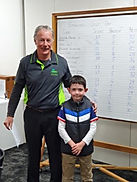 Sponsor Day young player Tyler Smyth wit
