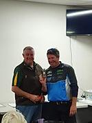 Sponsor Day NTP winner Glenn Smyth with