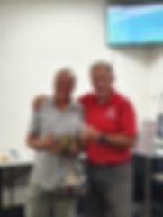 Wingham Cup winners Steve Abbott nett an