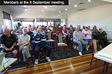 Members at the 8 September meeting_edite