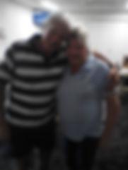 Graham Steel with Chook Run winner Pat W
