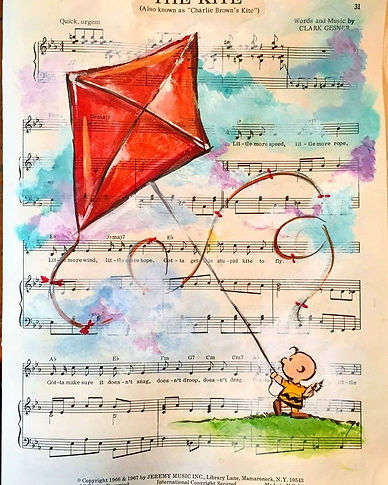 Charlie Brown: The Kite