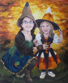 Quinn & Lorelai in Costume