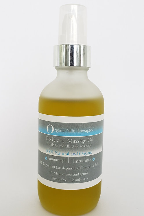 Body and Massage Oil - Immunity