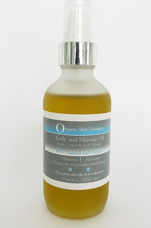 Body and Massage Oil - Harmony