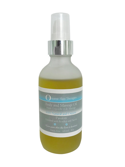 Body and Massage Oil - Passion