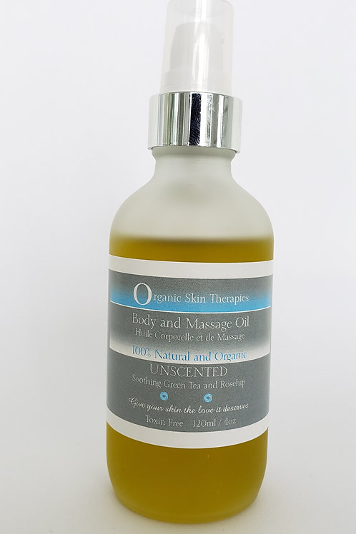 Body and Massage Oil -UNSCENTED