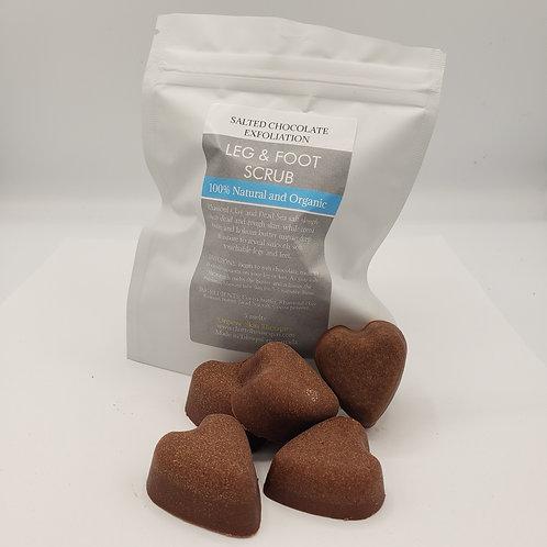 Salted Chocolate Leg & Foot Scrub Melts