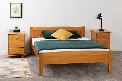 Amber' Bed in Antique Pine