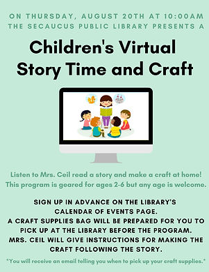 Children's Virtual Storytime & Craft.jpg