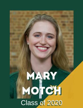 Mary Motch, Class of 2020