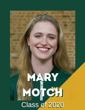 Mary Motch, Class of 2020