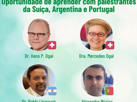 Brasil, Suíça Portugal e Argentina representados no Simpósio