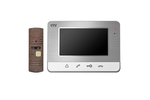 """Комплект видеодомофона CTV-DP401 4"""""""