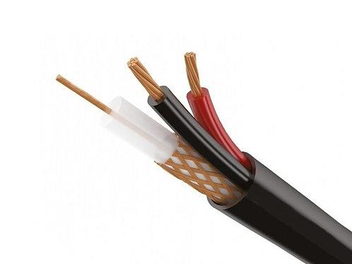 Комбинированный кабель для видеонаблюдения 0,75мм