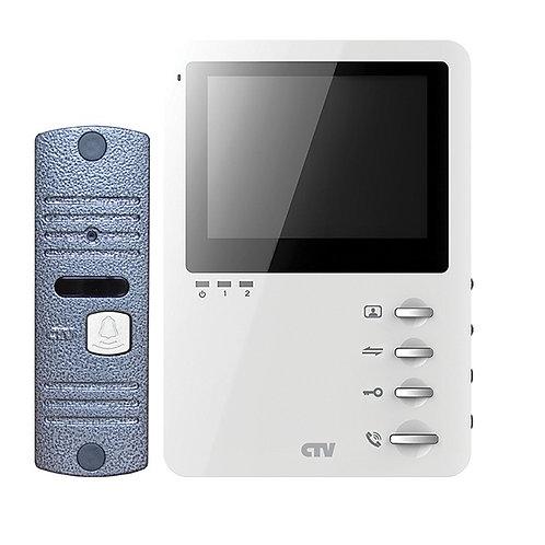 """Комплект видеодомофона CTV-DP1400M 4"""""""
