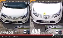 Сравнение аналоговой камеры и AHD