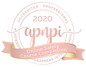 Accredited Professional Newborn Photographer International Online Safety Course Completion