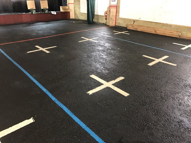 RB - Firing Range clean floor