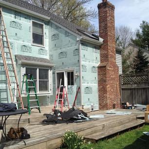 Marvic House Wrap Install