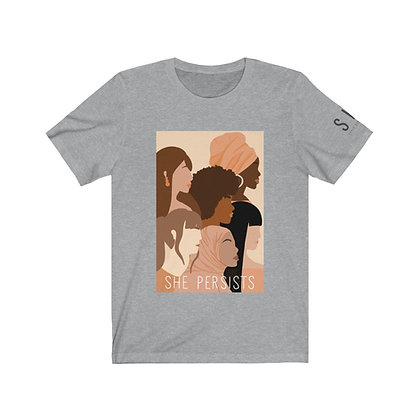S H E persists tee