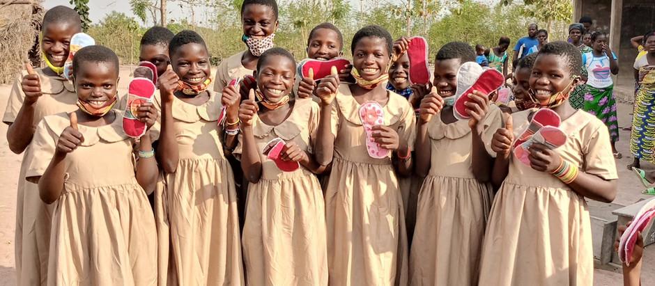 Removing period stigma in Togo, Africa
