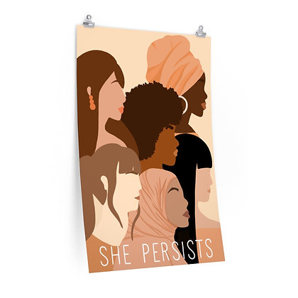 S H E Persists Poster