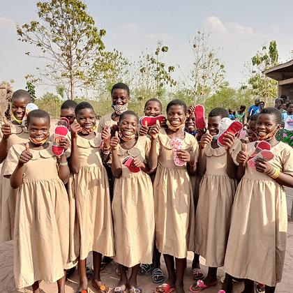 Give a Reusable Menstrual Kit