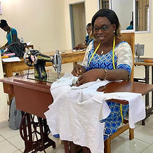 Right now, our seamstresses are working