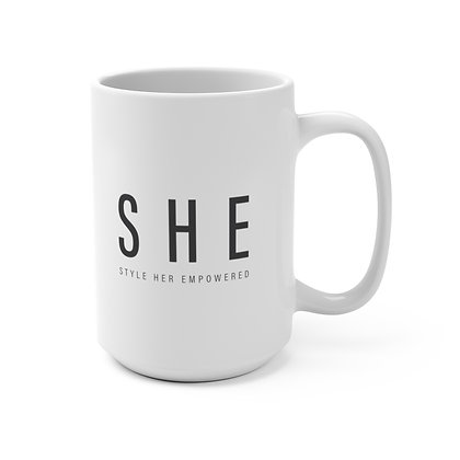 Oh yes, S H E can Mug