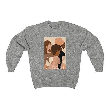 S H E persists crewneck sweatshirt