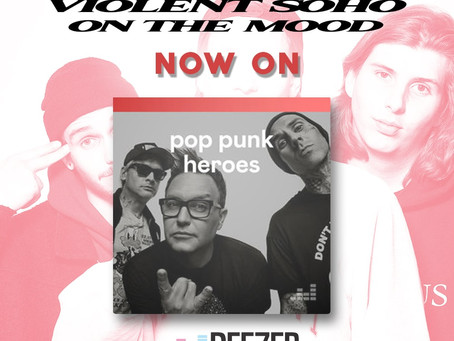 Elm Tree Circle on the rock and pop-punk lists of Deezer