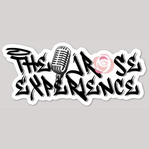 The JRose Experience Glossy Die Cut Sticker