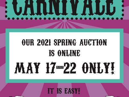 Our Auction is Live!