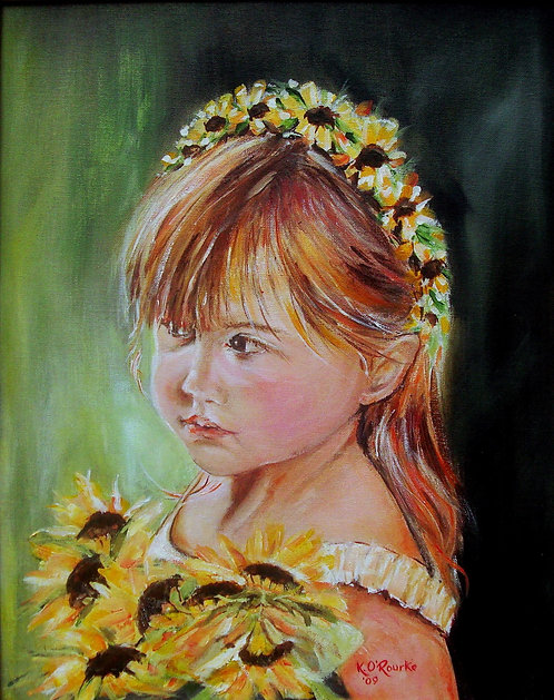 The Flower Girl