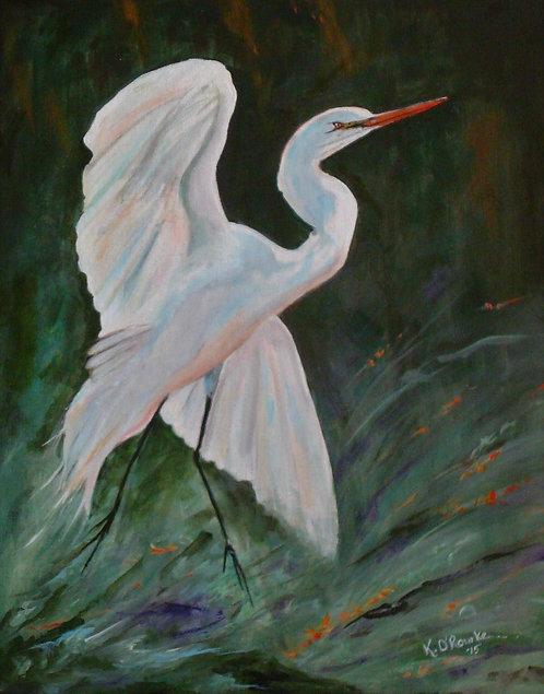 Serene Spirit (Egret)
