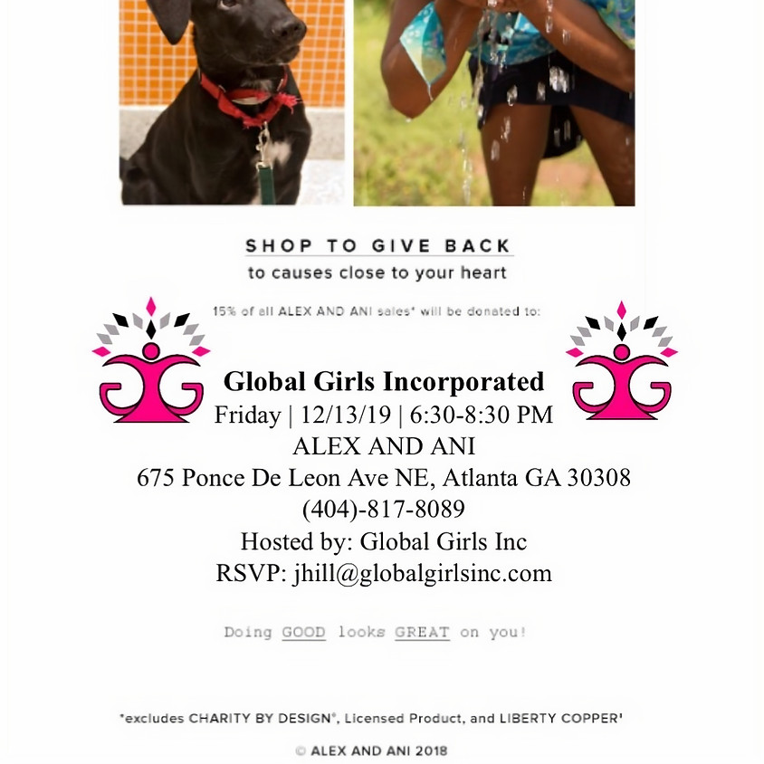 Shop To Give Back with ALEX AND ANI and GGI!