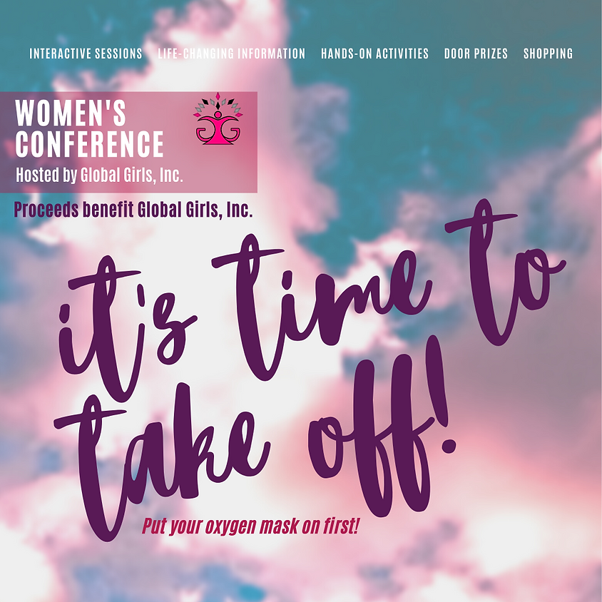 """""""It's Time to Take Off"""" Women's Conference"""