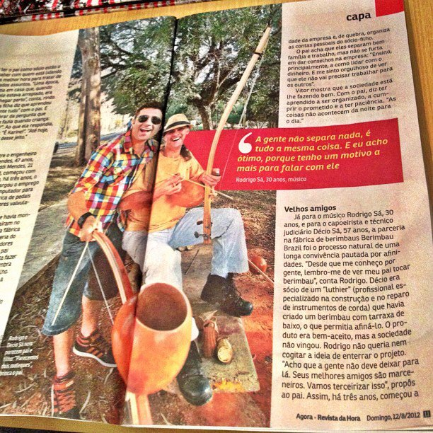 Jornal Agora - Rodrigo Sá e Décio Sá