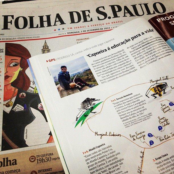 Matéria Folha de São Paulo