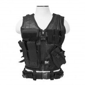 VISM® by NcSTAR® TACTICAL VEST/BLACK  M-XL