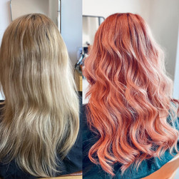 Pink makeover with Wefts
