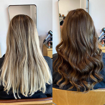 Color and Extension Makeover