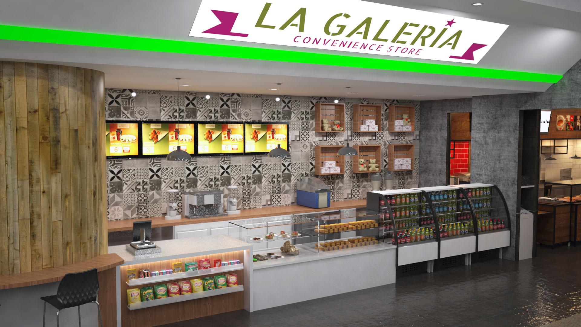 Reforma 3D Retail restaurante 4