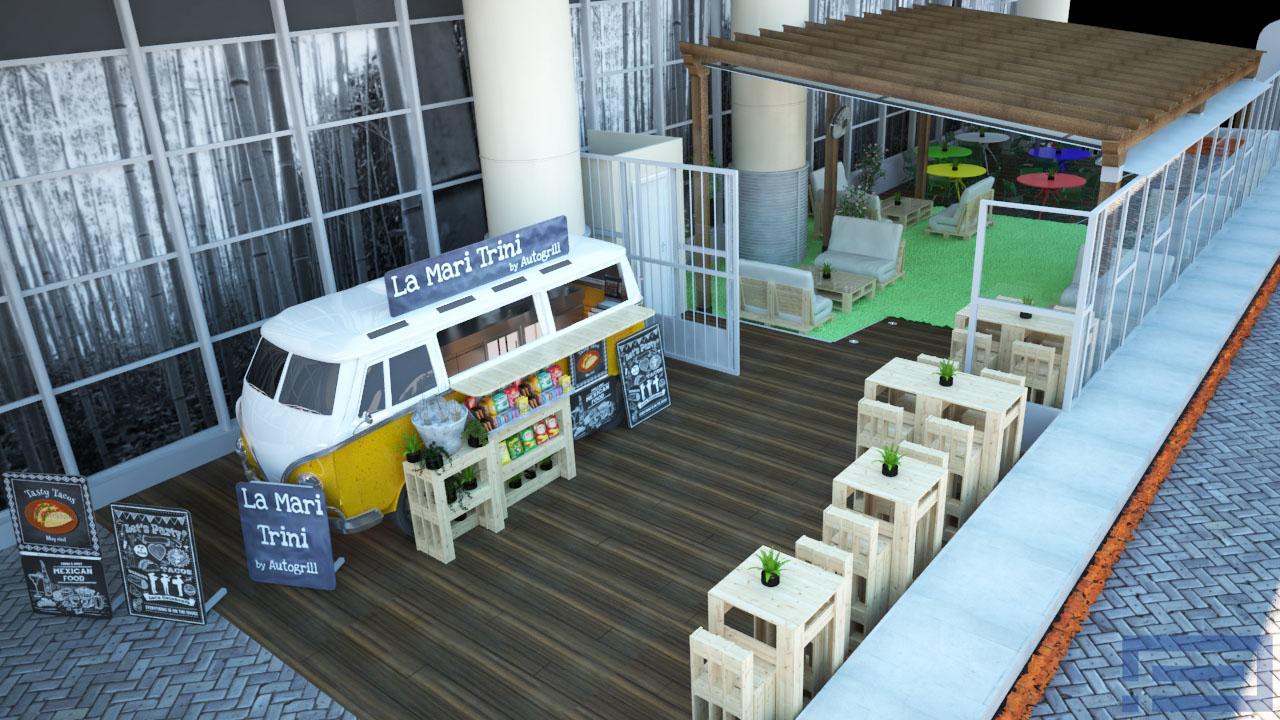 Reforma 3D Retail restaurante 1